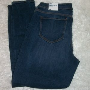 Old Navy size 14 Rockstar Skinny Jeans Distressed